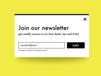 Newsletter Signup freebie free flatdesign design ecommerce web ux dailyui ui email signup newsletter