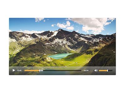 Video Player interface ux dailyui movie player movie video player video ui