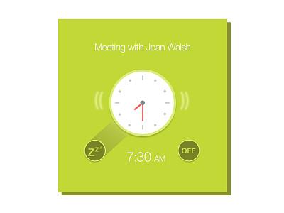 Alarm clock mobileapp snooze ux ui wakeup clock app alarm