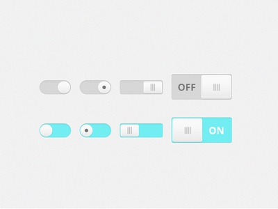 On, off switch download freebie free dailyui interface uielement switch ui turnoff turnon off on