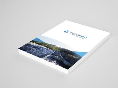 Hydroelectricity Company Print Design blue print logo design logo