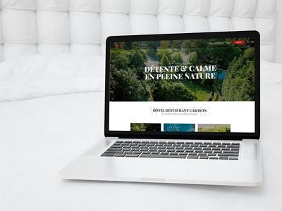 Hotel Restaurant Homepage nature ux design ui design ux ui webdesign website restaurant hotel