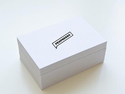 Webzine Logo Business Card minimal business card minimal design black and white black typographic logo logo design logo
