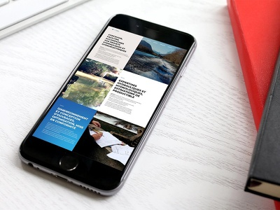 Hydroelectricity Website ux design ui design gradient blue