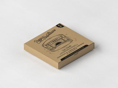 Pizza Box black print design print typogaphy pizza box pizza illustration