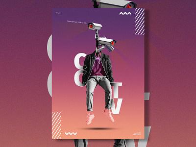 CCTV - POSTER DESIGN poster cctv social media design poster design poster art ads design ads social media
