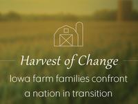 Harvest of Change landing page