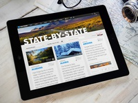 USA TODAY State-by-State digital concept