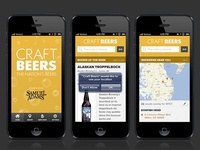 Concept for craft beers app