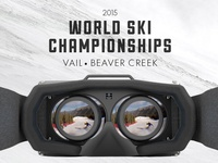 Oculus rift virtual reality skiing