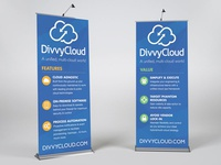 DivvyCloud trade show banners