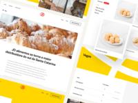 Website pages - JD Alimentos