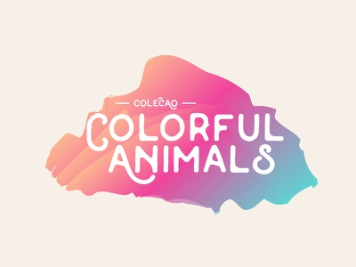 Logo for Color Animals collection colorful color animals colorful animals