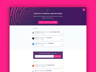 vagas.design landing page brasil design vagas
