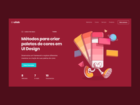 Header made for UI Lab Landing Page
