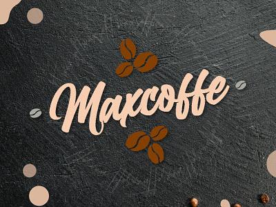coffeshop lettering concept lettering logo design concept colorful brown aesthetic
