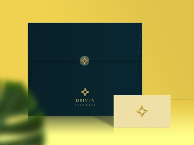 Envelope Design for Driving standard luxury logo graphic design clothing brand brand identity logo logo design illustrator design branding identity design business card design envelope design