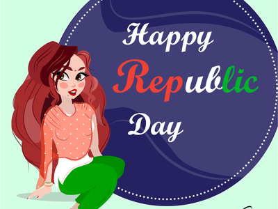 Republic Day indiangirl sweet indiana indianculture characters characterdesign girl india republicday adobeillustrator graphic digitalcreation artoftheday artwork art illustrationartist digitalartwork graphicdesign digitalart