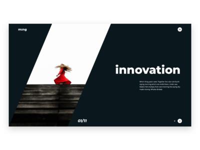 Ming - A simple & Creative Theme