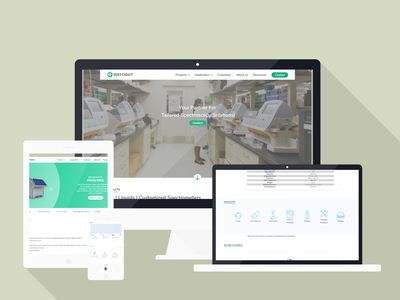 TestRight - Life Sciences Start-up Website Redesign Project hire me design branding ui product design redesign adobe xd