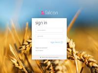 Falcon login