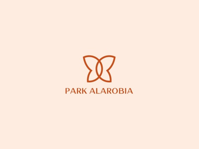 Park Alarobia - Logo design butterfly butterfly logo logo design branding logo designer logo design logodesign branding logo design color palette graphic design