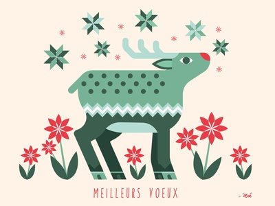 Best wishes 2021 graphic design vector color palette holiday card santa christmas2021 illustration design reindeer christmas card christmas merry christmas merry xmas merry