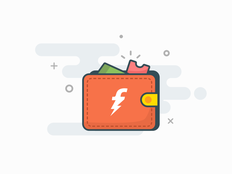 Freecharge Wallet Icon by Nikhil Kirve on Dribbble