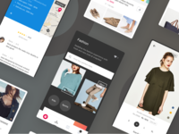 Snapdeal Fashion Concept UI