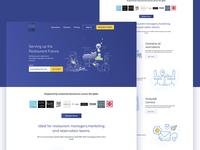 Restaurants interface design