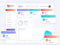Expenses Mileage Tracker Dashboard Design