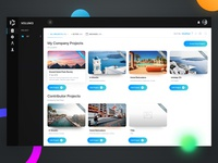 Resource Sharing Platform dashboard Design