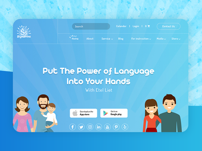 Signshine Studio UI webdesign design portal web ux ui