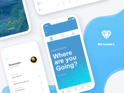 Goluxury IOS App