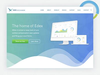 Dwc Exchange Project trendy 2018 gradient webdesign design stylish modern ux ui web