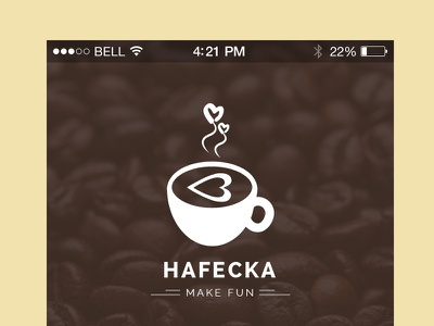 Hafecka App psd mobile ios ux ui app shop iphone coffee