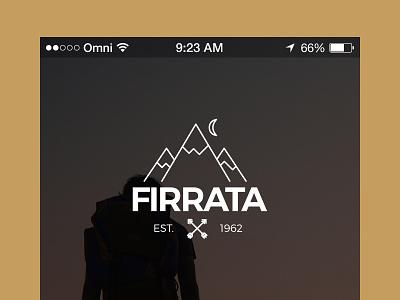 Firrata App mobile ios ux ui app iphone globe map travel mountain adventurous adventure