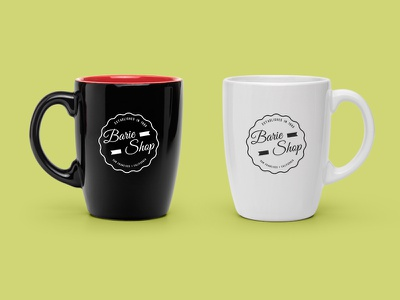 Barie Shop coffee shop cup