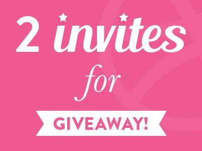 2x Dribbble Invites dribbble dribbble invites dribbble invitation giveaway invite invites