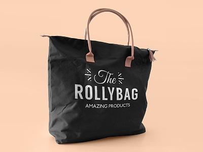 The Rollybag handbag design fashion bag