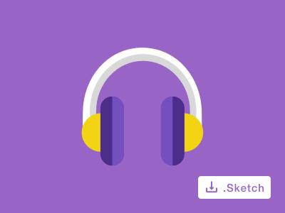 Music Icon icon headphone music clean
