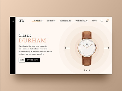 Daniel Wellington web page