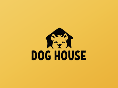 Dog house charity character illustration design logotype logo cute house home dog
