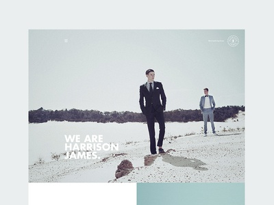 Harrison James Website