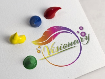 Visionary art logo