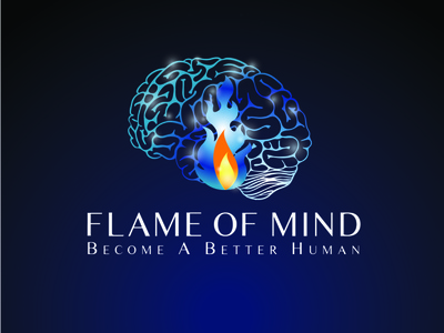 Flame of mind logo