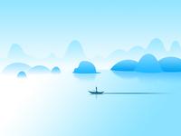 Thousand Islet Lake