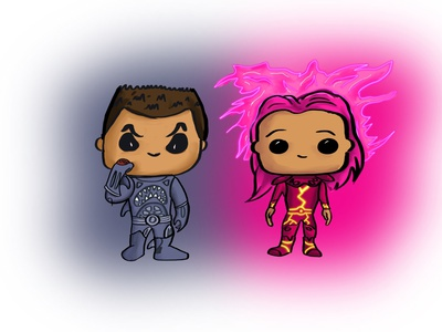 Sharkboy and Lavagirl Pop concepts