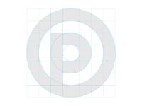 P Monogram Construction