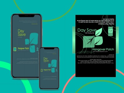 Mobile app day save mobile green theme green app mobile ui grafik ui design mobile app design